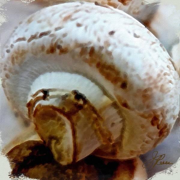 Painting - Mushroom by Joan Reese