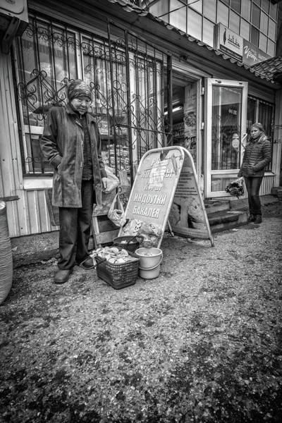Photograph - Mushroom Seller In Cloak by John Williams