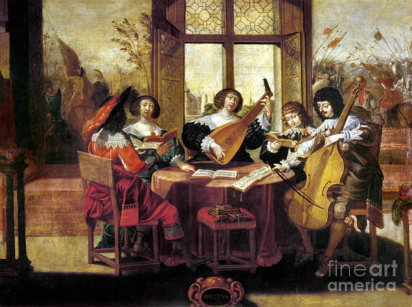 Photograph - Music, 17th Century by Granger
