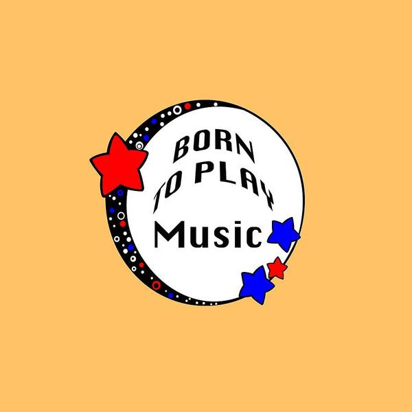 Photograph - Music Born To Play Music 5670.02 by M K Miller