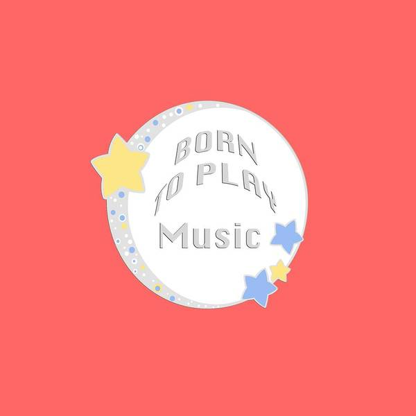 Photograph - Music Born To Play Music 5671.02 by M K Miller
