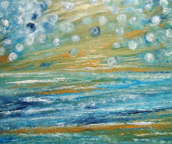 Painting - Music From The Spheres by Angeles M Pomata