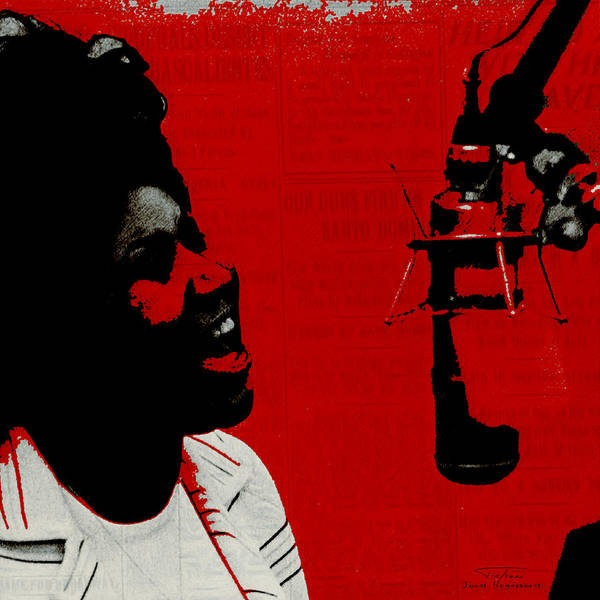 Wall Art - Painting - Music Icons - Aretha Franklin Ill by Joost Hogervorst