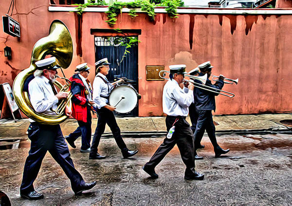 Photograph - Music In The Streets by Alice Gipson