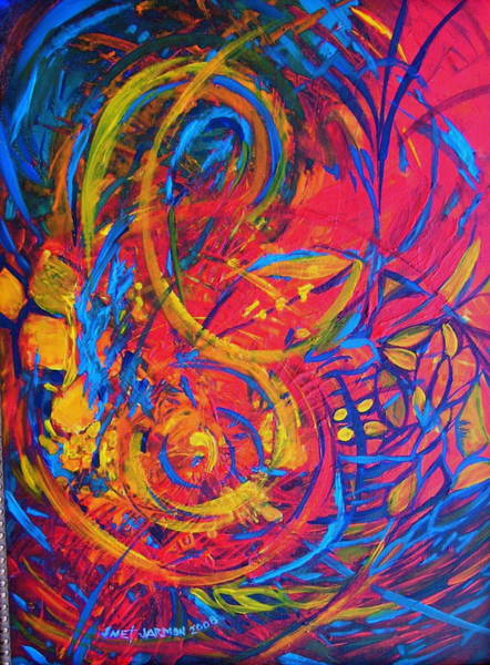 Painting - Music by Jeanette Jarmon