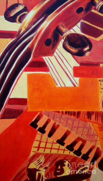 Painting - Music by Maria Langgle