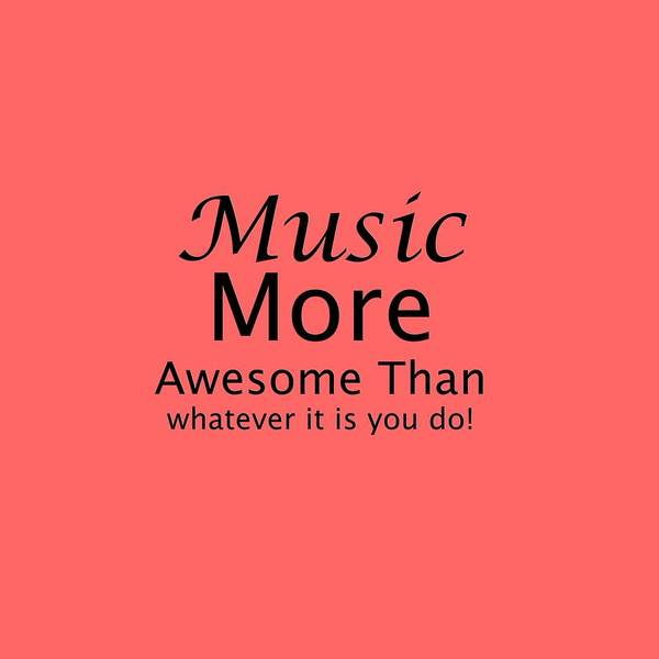 Photograph - Music More Awesome Than You 5569.02 by M K Miller