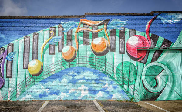 Wall Art - Photograph - Music Mural  by Joan Carroll