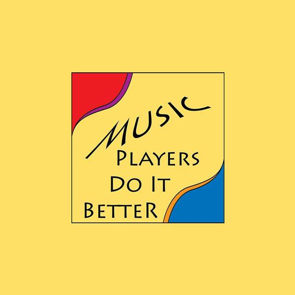 Photograph - Music Players Do It Better 5646.02 by M K Miller