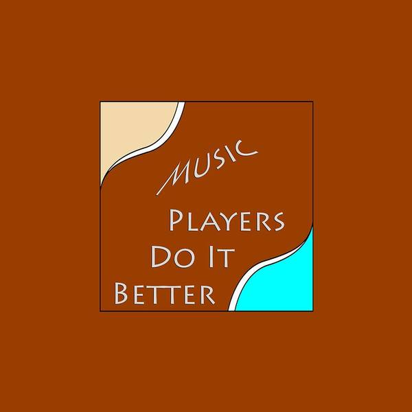 Photograph - Music Players Do It Better 5647.02 by M K Miller