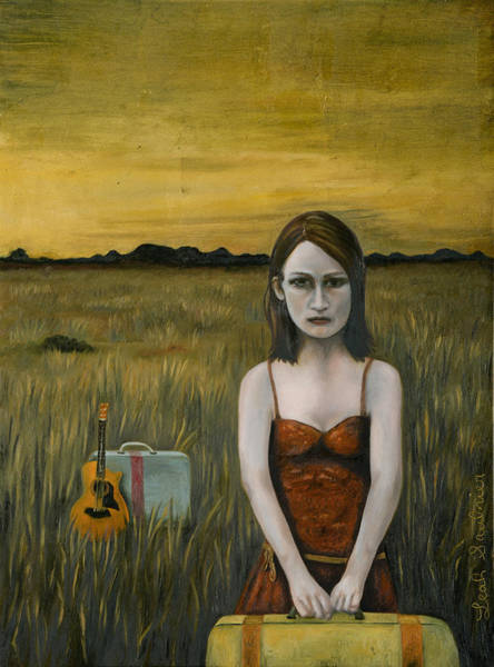 Painting - Music Traveler by Leah Saulnier The Painting Maniac