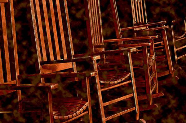 Photograph - Musical Chairs by Lynda Lehmann