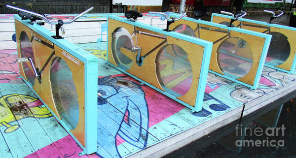 Montreal Neighborhoods Wall Art - Photograph - Musical Cycles 2 by Randall Weidner