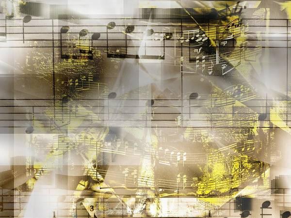 Digital Art - Musical Secrets by Art Di