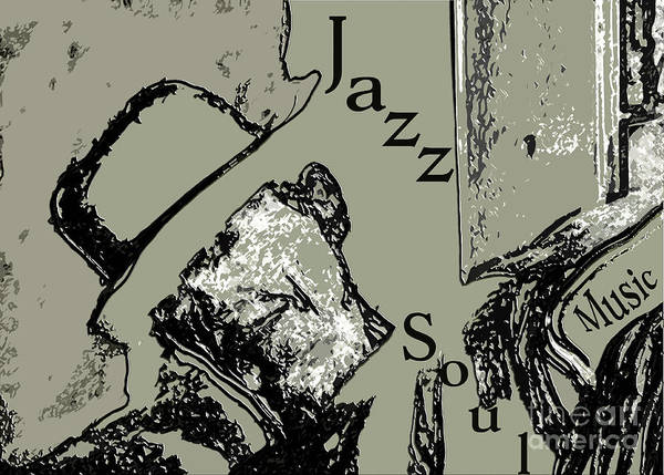 Digital Art - Musical Self by Lance Sheridan-Peel