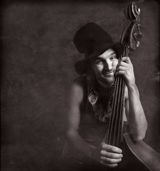 Photograph - Musician #4248 by Andrey Godyaykin