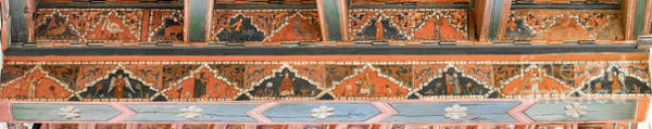 Photograph - Musicians Painted On A Medieval Ceiling by RicardMN Photography