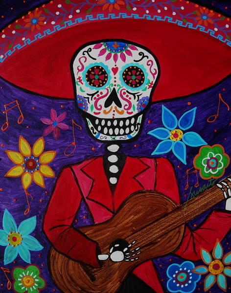 Wall Art - Painting - Musikero by Pristine Cartera Turkus
