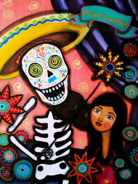Harana Wall Art - Painting - Musikero Serenata by Pristine Cartera Turkus