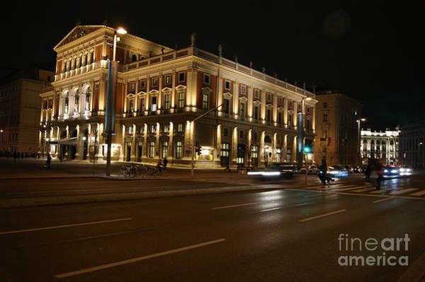 Photograph - Musikverein Concert Hall In Vienna by David Birchall