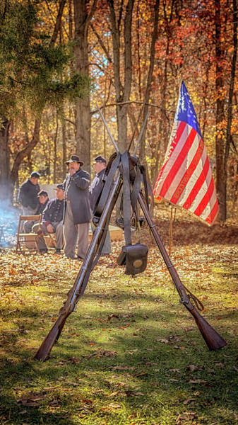 Photograph - Musket Stand by Susan Rissi Tregoning