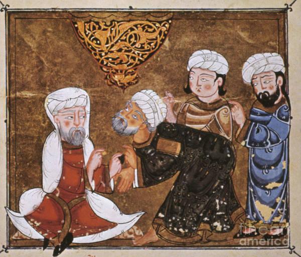 Photograph - Muslim Court, 1334 A.d by Granger