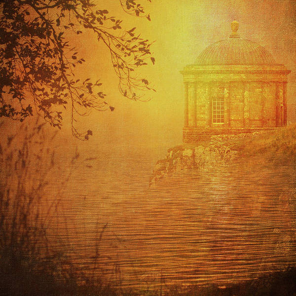 Multiple Exposure Digital Art - Mussenden Temple by Sharon Williams