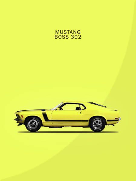 Ford Mustang Photograph - Mustang Boss 302 by Mark Rogan