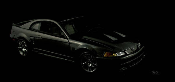 Photograph - Mustang Cobra by Bill Posner