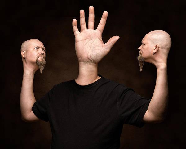 Head Wall Art - Photograph - Mutation by Petri Damsten