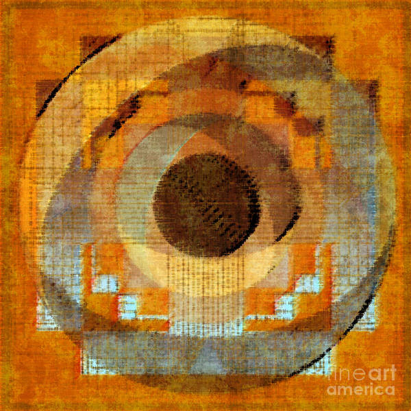 Digital Art - Muted II Remix 2015 by Kathryn Strick