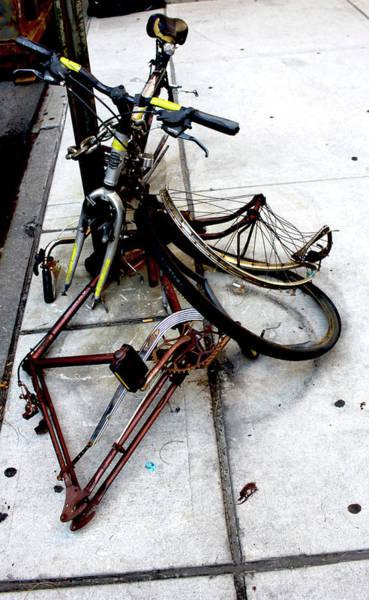 Photograph - Mutilated Bike Series #21  by Kasey Jones