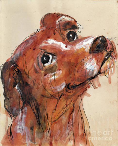 Mutt Painting - Mutt by Doris Blessington