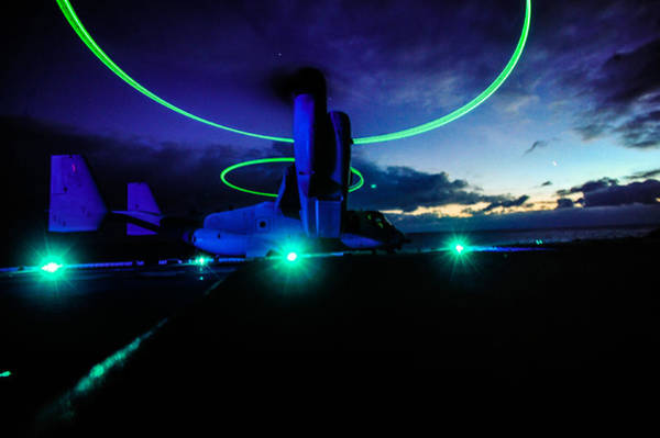 Sharpshooter Wall Art - Painting - Mv-22 Osprey Us Navy by Celestial Images