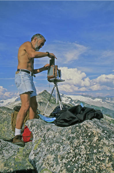 Photograph - Mxx132 Ed Cooper On Hidden Lake Peaks by Ed Cooper Photography