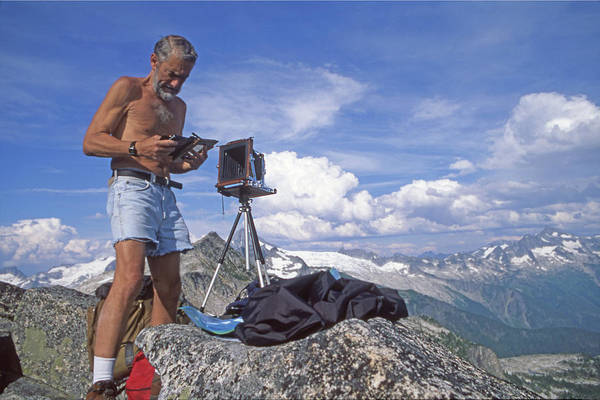 Photograph - Mxx133 Ed Cooper On Hidden Lakes Peaks Wa by Ed Cooper Photography