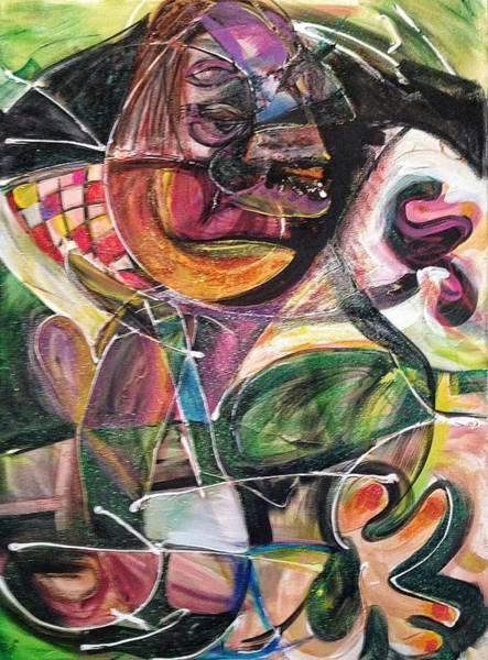 Alcoholism Painting - My Addiction by Jordan Bodenhamer