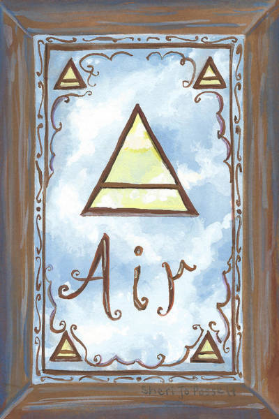 Painting - My Air by Sheri Jo Posselt