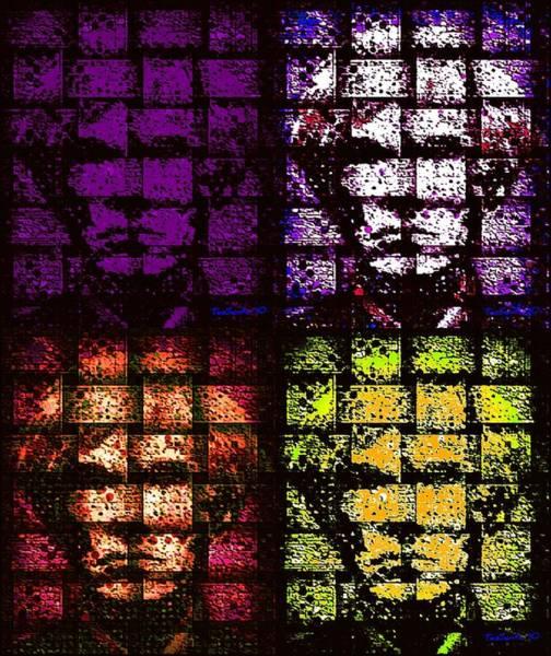 Painting - My Andy Warhol Quatro by Teodoro De La Santa