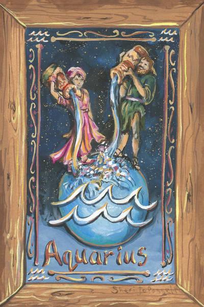 Painting - My Aquarius by Sheri Jo Posselt
