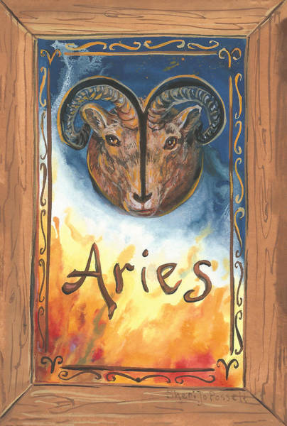 My Aries Art Print