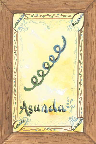 Painting - My Asunda by Sheri Jo Posselt