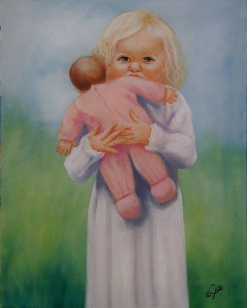 Painting - My Baby by Joni McPherson
