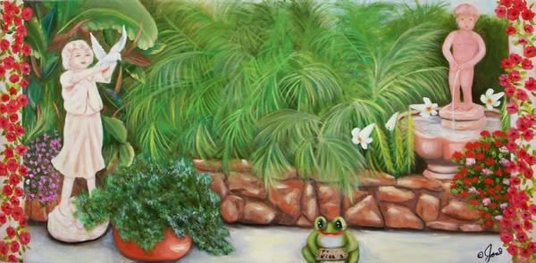Painting - My Backyard by Joni McPherson