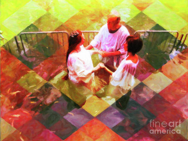 Digital Art - Baptism Check Mate by Donna L Munro