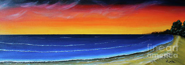 Wall Art - Painting - My Beach by Norman McLean