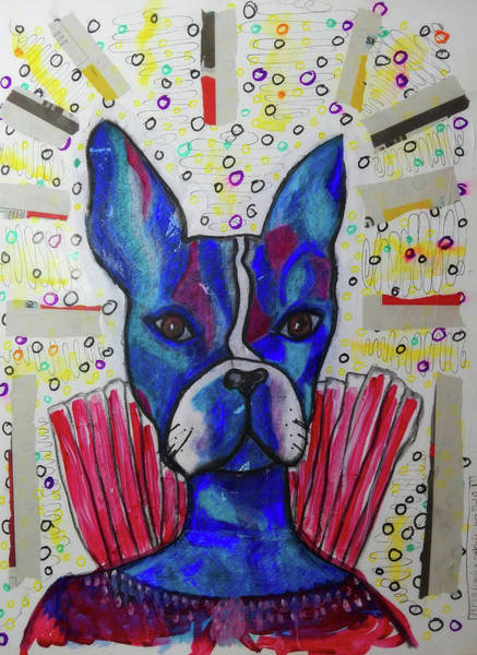 Mixed Media - My Bestest Friend by Mimulux patricia No