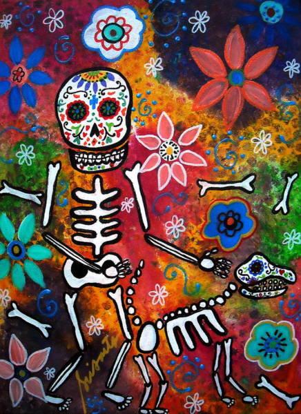 Wall Art - Painting - My Bestfriend by Pristine Cartera Turkus