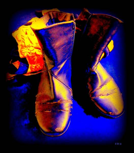 Photograph - My Boots by VIVA Anderson