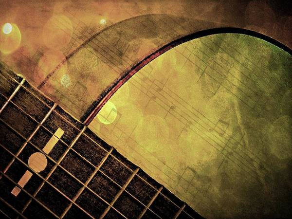 Photograph - My Brother's Guitar by Phyllis Meinke